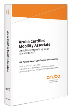 hpe press aruba certified mobility associate official