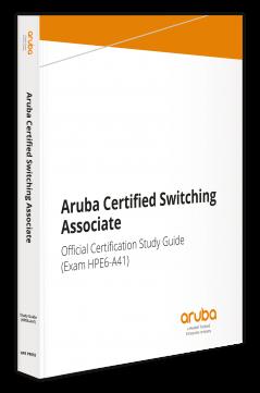hpe press aruba certified switching associate official